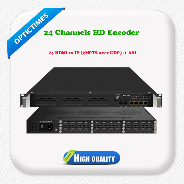 Digital TV broadcasting equipment h.264 iptv hd encoder