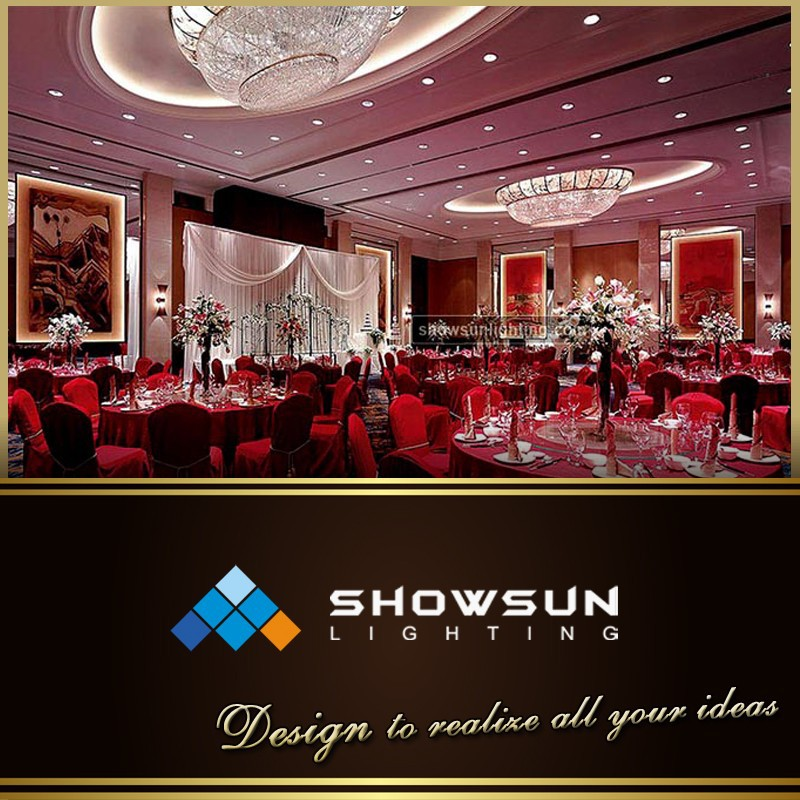 Showsun brand oval metal lace decorative crystal flush mounted lamp
