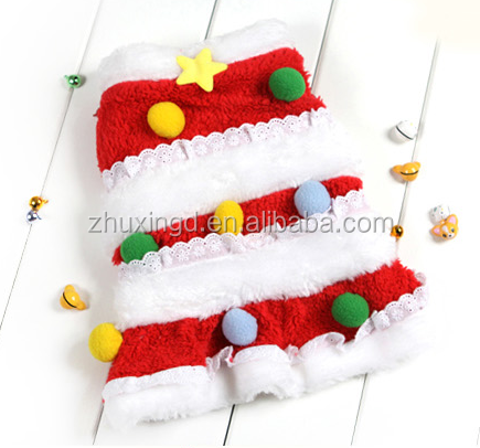New design pet christmas dresses / clothes manufacturer small order / china supplier pet articles