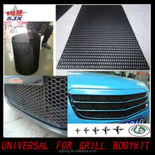 Factory direct sale ABS Plastic ont Mesh Grill/High Quality Decorative Light Mesh Grille for Universal Cars