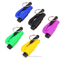 3 in 1 Emergency Mini Safety Hammer Auto Car Window Glass Breaker Seat Belt Cutter Rescue Hammer
