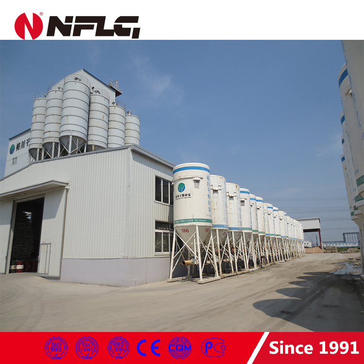 Low price colorful decoration automatic dry mortar production plant