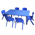 China market ergonomic design preschool table and chairs