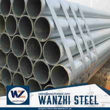 40 schedule galvanized pipe small diameter galvanized welded steel pipe with low price, In Stock