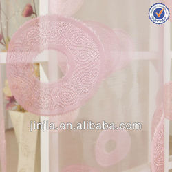 M3146 silk effect curtains paper curtain waterproof sheer curtains window curtain patterns