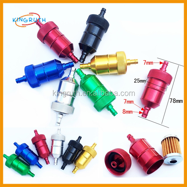 Alloy Petrol Gas Fuel Filter CRF YZF KXF KTM hot selling product usa 2016