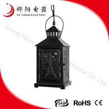 Artistic Ceiling Retro Black Lamp From Zhejiang China