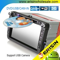 "Erisin ES3015V 8"" Android 5.1 Touch Screen Car DVD Player for Golf 5"