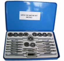 Thread Tap and Die Set 24PCS Metric