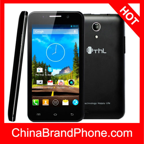 Original THL W100S 4GB Black RAM: 1GB, 4.5 inch smart phone