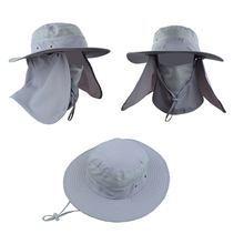 Custom Bucket Hat With Flap Neck Cover Spf Sun Protection Hat