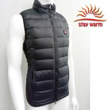 Rechargeable Battery Heated Down Vest