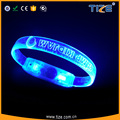 2017 Hot New Products Birthday Party Decoration Promotional Gifts Night Light Led Flashing Party Wristband
