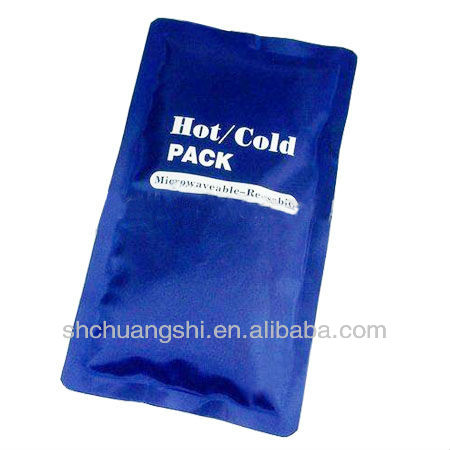 nylon taffeta hot cold pack for personal therapy
