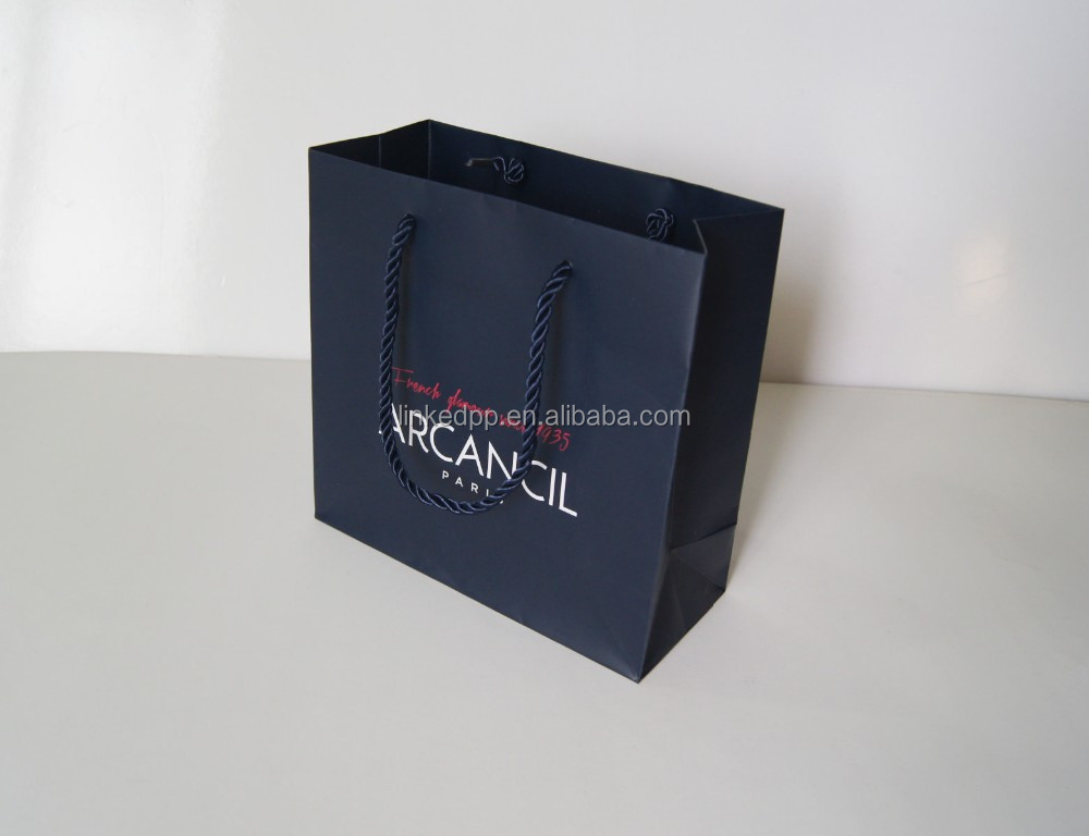 Customized paper shopping bag Large / Medium / Small