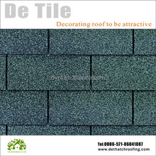 China high quality Building Material asphalt roof shingle 3 -tab