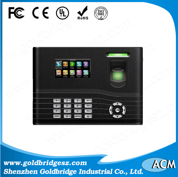 ZK IN01 Biometric Fingerprint with Battery Backup Time Attendance Device