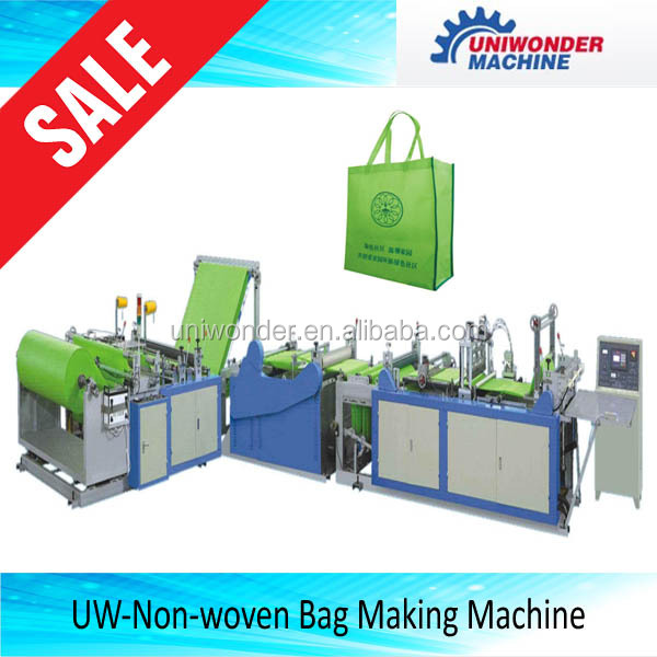 Full Automatic PP Spunbond Nonwoven Fabric Bag Making Machine/pp fabric bag machine