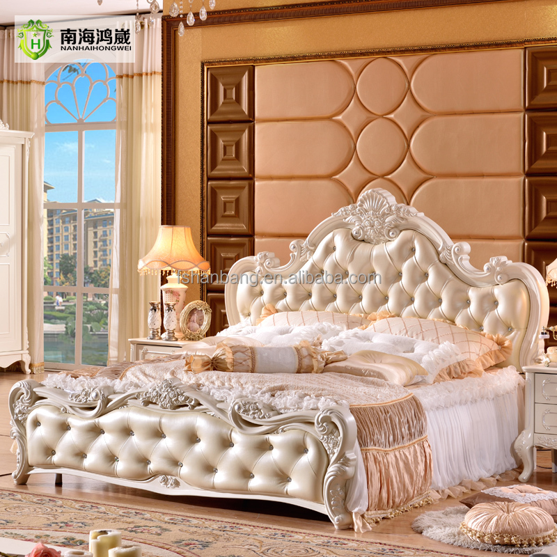 Traditional Luxury European Style Bedroom Furniture Sets
