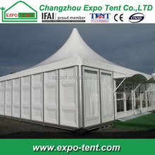 2040 Arabian PVC pagoda party tent used