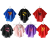 New arrival lovely superhero rubber rain cape for women