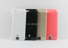 For Apple iPhone 5 5S 5C Universal 2200mah External Backup Battery Charger Case Cover With Calling Sense Led