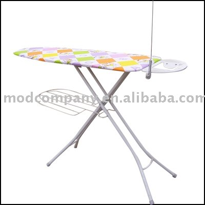 steel mesh ironing board with 7 steps , height according to you