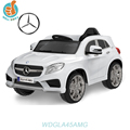 WDHTGLA45 Licensed Mercedes Benz GLA45 AMG new cars 2016, with led light music fashion toy