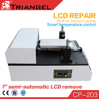 New arrival Vacuum semi-automatic lcd screen assembly with CE certification to Repair /Separate /Refurbish Touch Screen machine