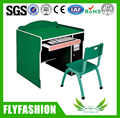 SF-30C Kids Computer Desk Child CP Table Wooden Kindergarten Desk and Chair Set For Set