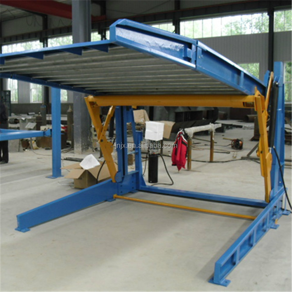 Double Cylinder Hydraulic Garage Used Car Lift For Sale