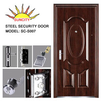 Security steel main door design for home SC-S007