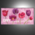 Beautiful Decorative Hand painted red rose flower Oil Painting On Canvas