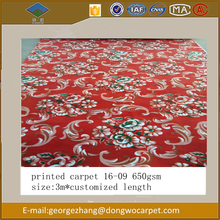 Home decoration polyester Printed Carpet for residential use