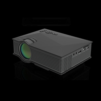 Smart 1080P HD wifi 1200Lumens Portable mini home theater mobile phone UC46 led projector