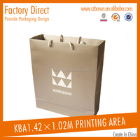 Custom Foldable Plastic Gift Paper Shopping Bag
