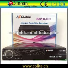 Azclass S810 Sd,Support Nagra2/Dongle/Amazonas W61.0 Satellites