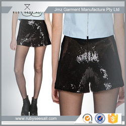 HOTTEST KOREAN FASHION STYLE ALL SEQUINS LADIES SHORT PANTS