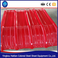 Color Coated Zinc Corrugated Curving Roof Sheet