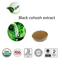 China supply high quality antibacteria black cohosh extract