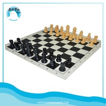 Handmade wooden chess pieces board games