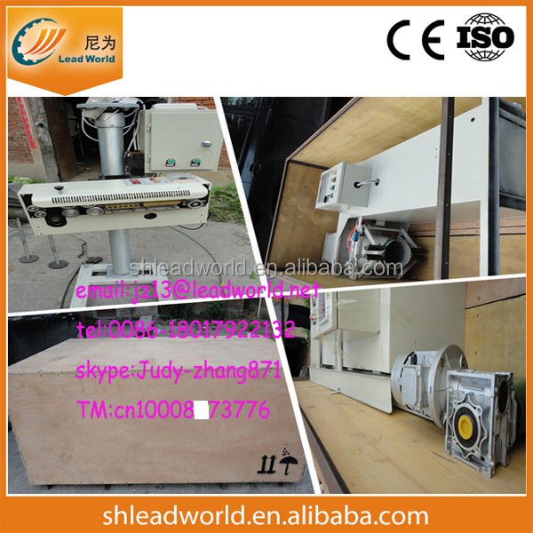 Grain Packing Machine with sewing machine and conveyor