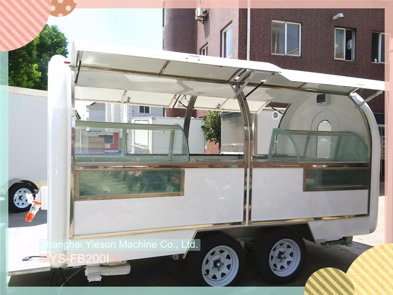 YS-FB390C Best Selling Food Truck Catering Trailers Mobile Food Trailer