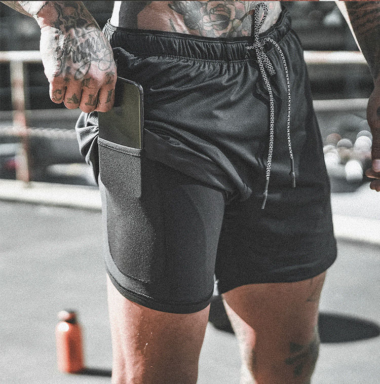 SummerJogging Gym Sweat Shorts Mannen