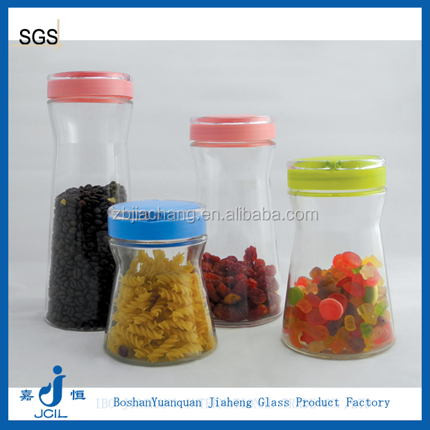 glass jars containers with lids for food