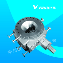 High viscosity melt pump for textile industry