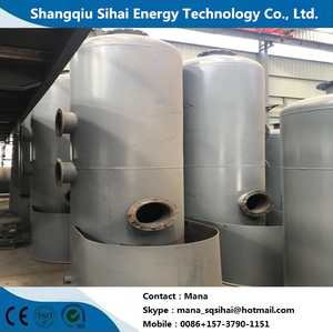 Waste motor oil extracting to diesel distillation plant with large output