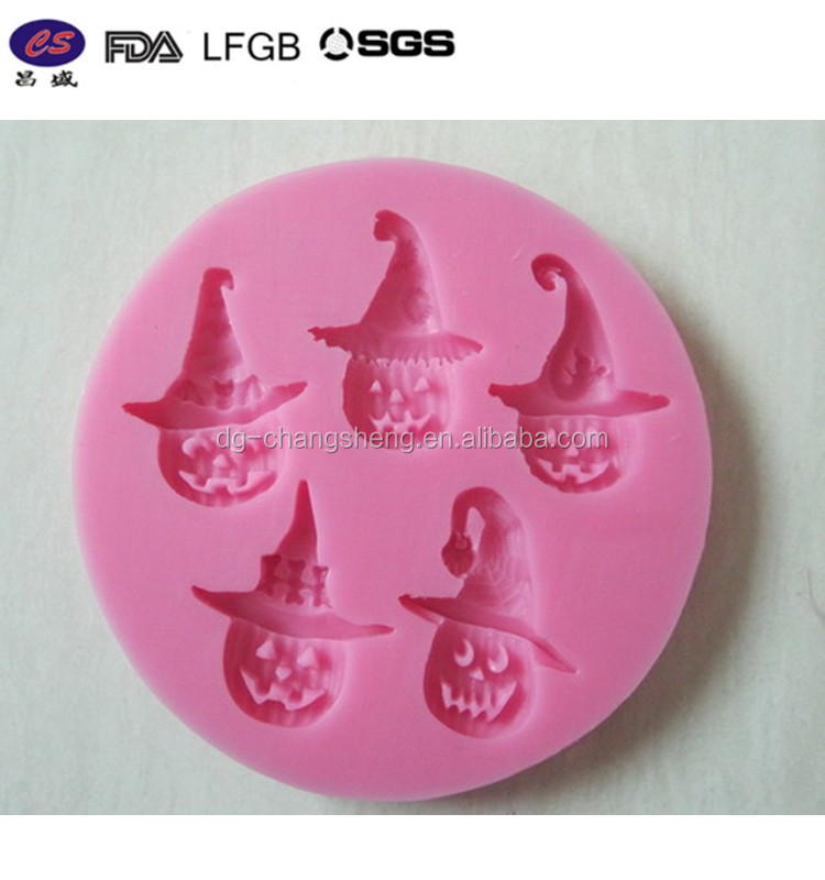 New Halloween Sugar craft fondant fimo cake topper icing sugarpaste silicone mould