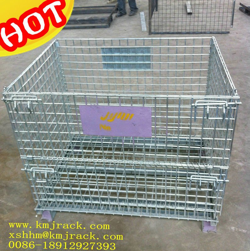 Steel Wire Mesh Crate