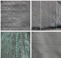 PP weed barrier/PP ground cover for garden/ PP woven weed mat